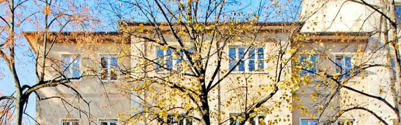 Außenansicht des Münchner Lehr– und Forschungsinstitut der Deutschen Akademie für Psychoanalyse e.V.
