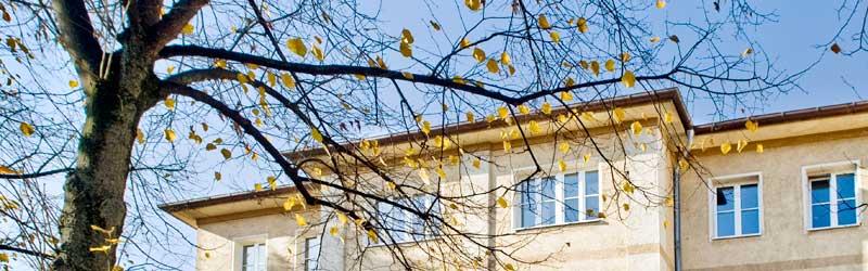 Außenfassade des Münchner Lehr– und Forschungsinstituts der Deutschen Akademie für Psychoanalyse e.V.